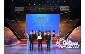 Chuyển phát nhanh J&T Express lọt vào Top 10 Thương hiệu tiêu biểu Châu Á - Thái Bình Dương 2020