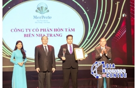 MerPerle Hon Tam Resort honored with Asia Quality Brands Award 2019.